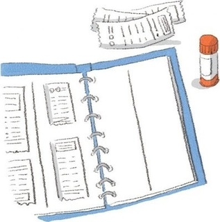 レシートをノートに貼り付ける画像.jpg