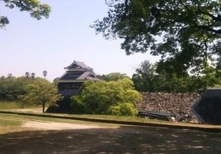 地震で崩れたお城の塀の画像.jpg